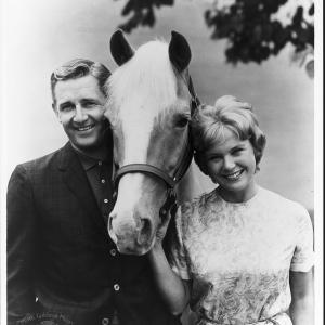 Still of Connie Hines and Alan Young in Mister Ed 1958