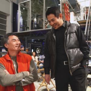 Still of Jet Li and Corey Yuen in War 2007