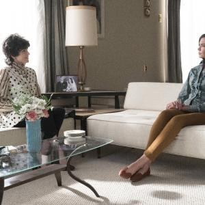 Still of Odette Annable and Holley Fain in The Astronaut Wives Club (2015)
