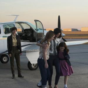 Still of Odette Annable and Morgan Burch in The Astronaut Wives Club (2015)
