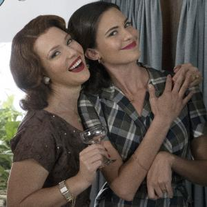 Still of Odette Annable and Erin Cummings in The Astronaut Wives Club (2015)