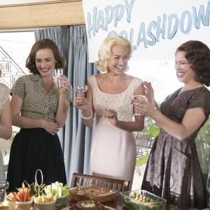 Still of Odette Annable, Dominique McElligott, Erin Cummings, Yvonne Strahovski and Zoe Boyle in The Astronaut Wives Club (2015)