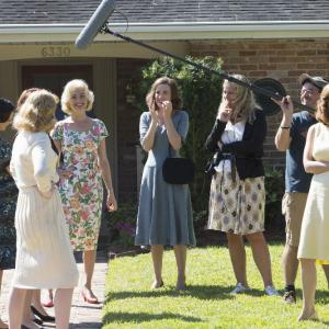 Still of JoAnna Garcia Swisher, Odette Annable and Yvonne Strahovski in The Astronaut Wives Club (2015)