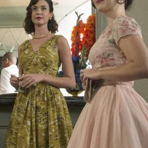 Still of Odette Annable and Azure Parsons in The Astronaut Wives Club (2015)