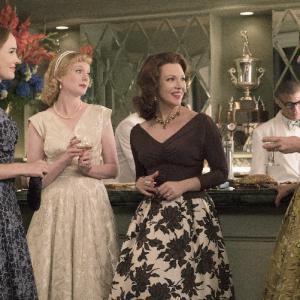 Still of Odette Annable, Dominique McElligott, Erin Cummings and Zoe Boyle in The Astronaut Wives Club (2015)
