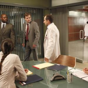Still of Robert Sean Leonard, Omar Epps, Peter Jacobson, Odette Annable and Charlyne Yi in Hausas (2004)