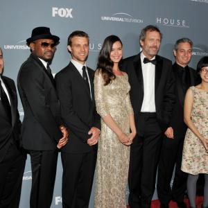 Robert Sean Leonard, Omar Epps, Peter Jacobson, Hugh Laurie, David Shore, Jesse Spencer, Odette Annable and Charlyne Yi at event of Hausas (2004)