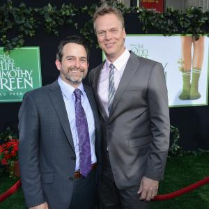 Peter Hedges and Geoff Zanelli at event of The Odd Life of Timothy Green 2012