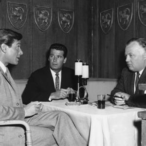 James Garner, James Bacon, Efrem Zimbalist Jr.