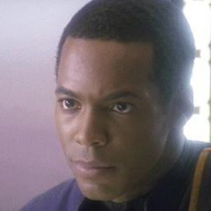 Anthony Montgomery as ENSIGN TRAVIS MAYWEATHER in Star Trek Enterprise