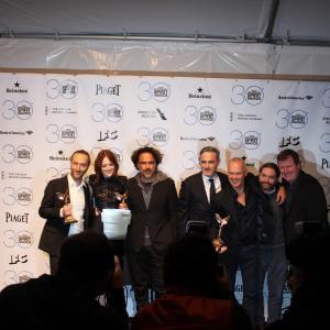 Michael Keaton Zach Galifianakis Alejandro Gonzlez Irritu Emmanuel Lubezki John Lesher and Emma Stone