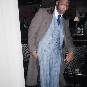 On the set of American Gangster