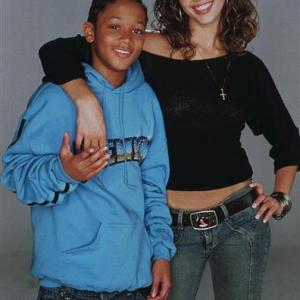 Jessica Alba and Romeo Miller in Honey 2003