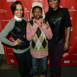 Alicia Keys, Jennifer Hudson, Skylan Brooks