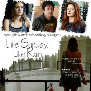 Debra Messing, Billie Joe Armstrong and Leighton Meester in Like Sunday, Like Rain (2014)