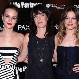 Leighton Meester, Gillian Jacobs and Susanna Fogel at event of Life Partners (2014)