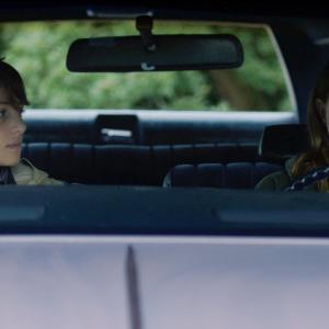 Still of Leighton Meester and Julian Shatkin in Like Sunday, Like Rain (2014)