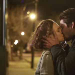 Still of Leighton Meester and Ben Barnes in By the Gun (2014)
