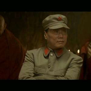 Ric Young as General Chang Jing Wu in Seven Years in Tibet
