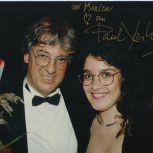 Monica with Paul Verhoeven at Netherlands Film Festival 1992