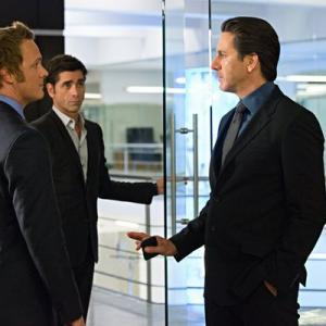 Still of John Stamos Scott Cohen and David Anders in Necessary Roughness 2011
