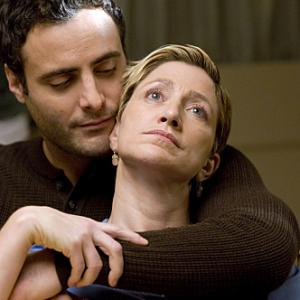 Still of Edie Falco and Dominic Fumusa in Nurse Jackie 2009