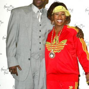 Bobby Brown and Missy Elliott