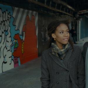 Still of Michael Fassbender and Nicole Beharie in Geda 2011