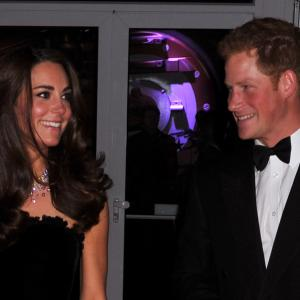 Prince Harry Windsor, Catherine Duchess of Cambridge