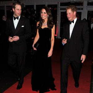 Prince Harry Windsor, Prince William Windsor, Catherine Duchess of Cambridge
