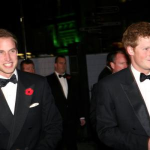 Prince Harry Windsor, Prince William Windsor