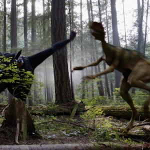 Photo still from Primeval: New World