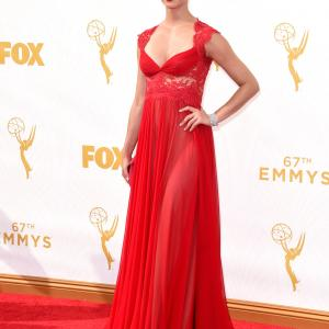 Morena Baccarin at event of The 67th Primetime Emmy Awards (2015)