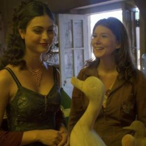 Still of Jewel Staite and Morena Baccarin in Firefly (2002)