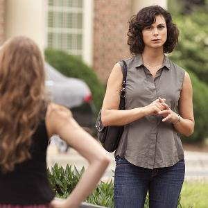 Still of Morena Baccarin and Jessica Brody in Tevyne: Uh... Oh... Ah... (2013)