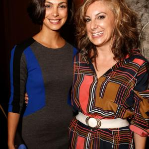 Kirsten Smith and Morena Baccarin at event of Apgaulinga aistra (2012)