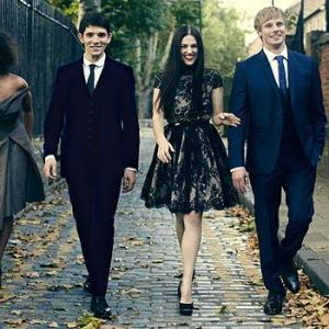 Angel Coulby, Katie McGrath, Colin Morgan, Bradley James
