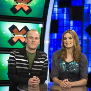 Adam Sessler, Morgan Webb