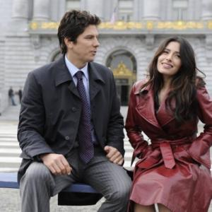 Still of Michael Trucco and Sarah Shahi in Fairly Legal 2011