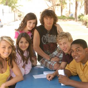Paul Butcher, Jamie Lynn Spears, Erin Sanders, Matthew Underwood, Christopher Massey, Victoria Justice