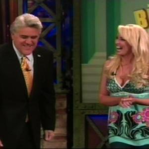 The Tonight Show with Jay Leno 2008 Jay Leno Robin Bain