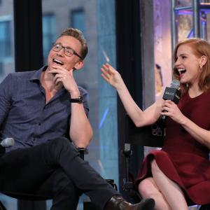 Tom Hiddleston, Jessica Chastain