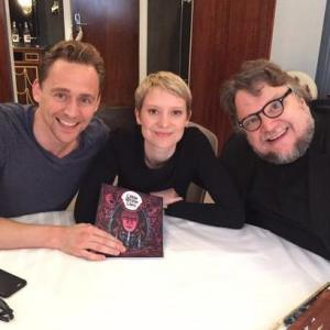 Guillermo del Toro, Tom Hiddleston, Mia Wasikowska
