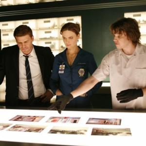David Boreanaz, Emily Deschanel, Eric Millegan