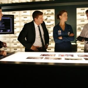 David Boreanaz, John Francis Daley, Emily Deschanel, Eric Millegan