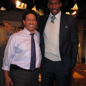 Hanging with Amare Stoudemire