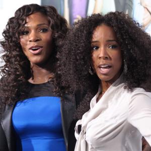 Kelly Rowland, Serena Williams