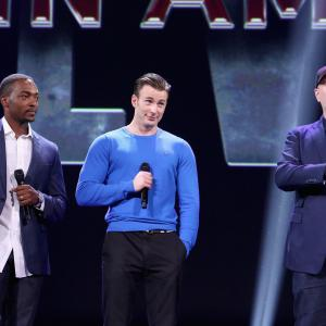 Chris Evans, Kevin Feige, Anthony Mackie