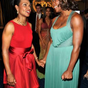 Serena Williams, Condoleezza Rice