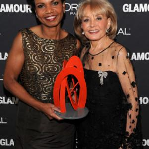 Barbara Walters, Condoleezza Rice